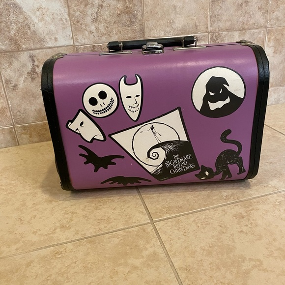 Other - Nightmare before Christmas Wooden suit case